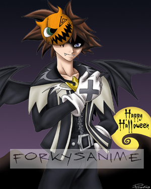 Halloween Town Sora by FA_Forky
