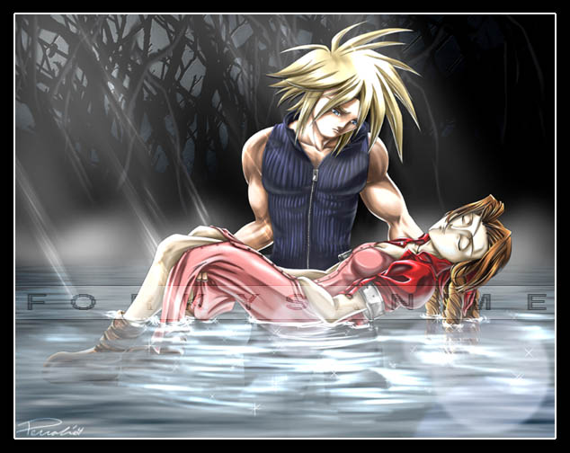 Burial of Aerith by FA_Forky