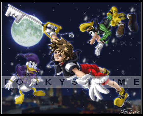 KH - London Flight in Neverland by FA_Forky