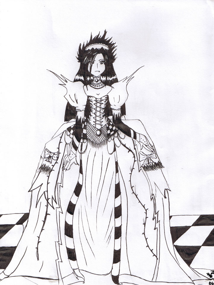 001-Le Vamp Queen by Fae