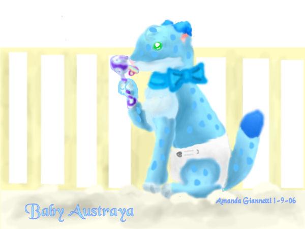 Baby Austraya by Fairygurl27