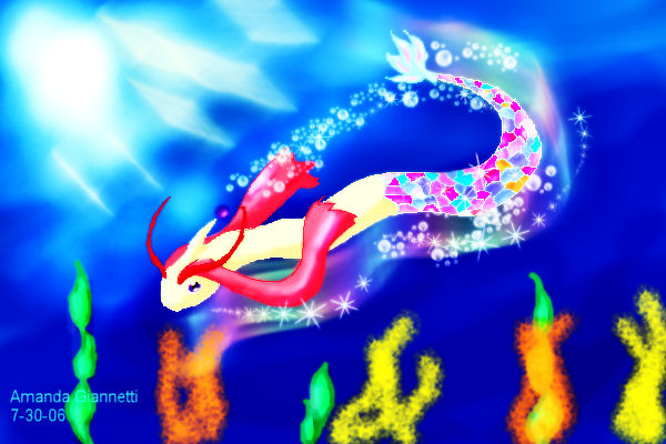 Milotic by Fairygurl27