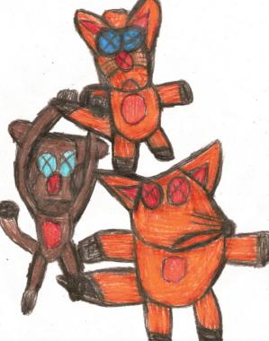 Random Chibi Plushie Animals For Blackbird1331^^ by Falconlobo