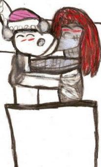 Finklestein X Sally In Bed Cuddling^^ by Falconlobo