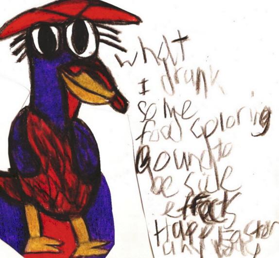 Er Random Easter Chicken Doodle^^ by Falconlobo