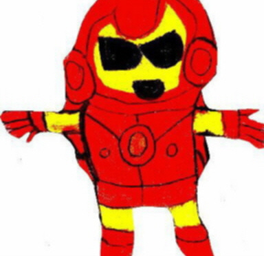 Chibi Ironman Edited by Falconlobo