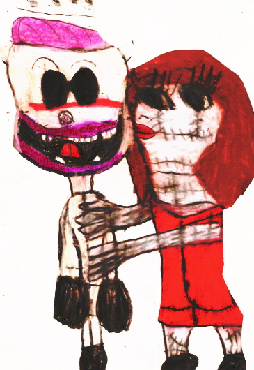 Finkelstein Flips His Lid From A Kiss By Sally Edited by Falconlobo