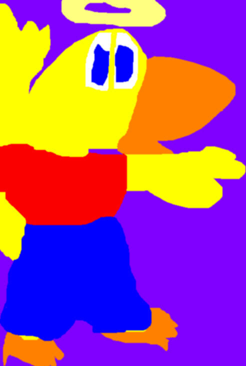 Ducky For Thingy Ms Paint by Falconlobo