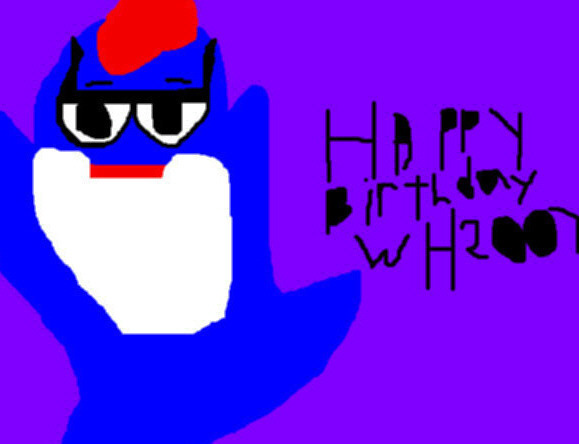 Happy Birthday WH2007 Ms Paint Charlie The Tuna by Falconlobo