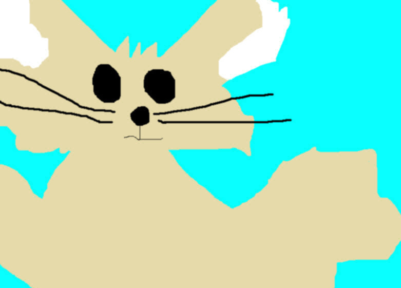 Random Fennec Fox Ms Paint^^ by Falconlobo