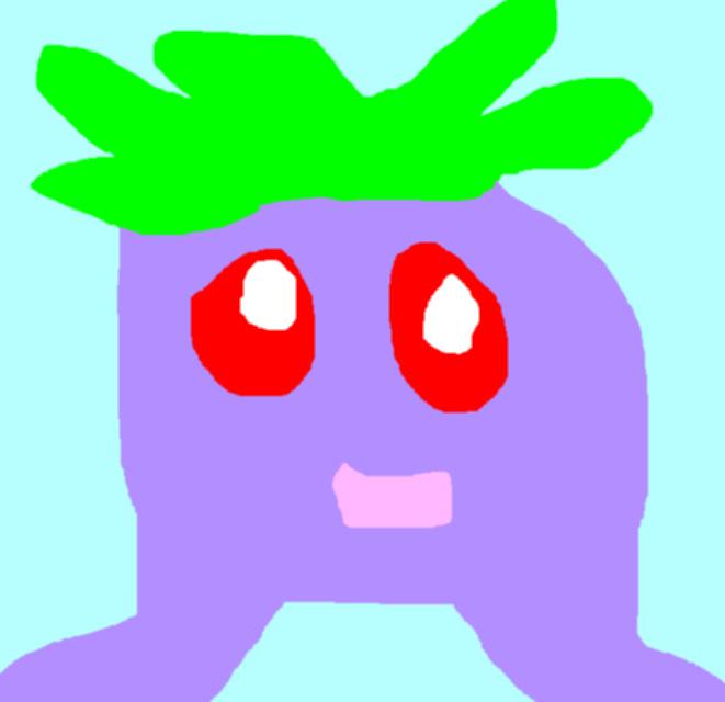 Oddish Chibi Try MS Paint by Falconlobo