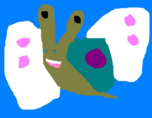 Another Random Buttersnail Ms Paint^^ by Falconlobo