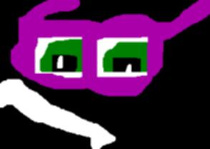 Random Randy Boggs Just Glasses Eyes And Teeth Ms Paint by Falconlobo