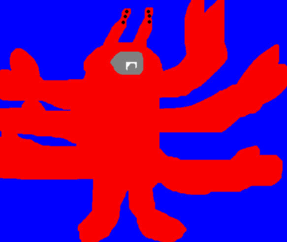 Random Lobster Spider Ms Paint by Falconlobo