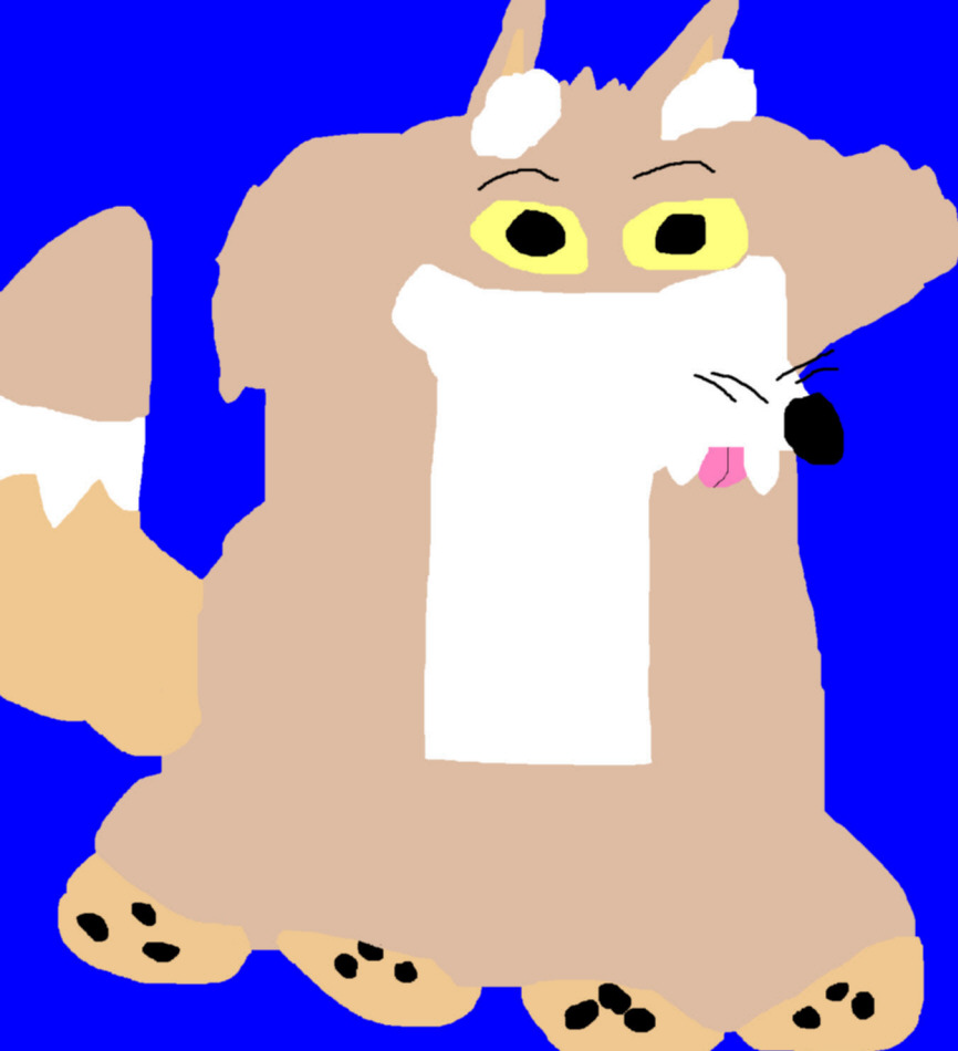 Canid Of Sorts Ms Paint by Falconlobo