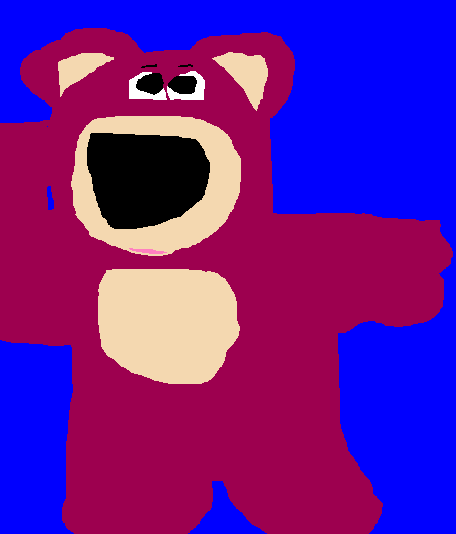 Lotso Hugging Bear Ms Paint B Day Gift For fredvegerano Of Furaffinity by Falconlobo