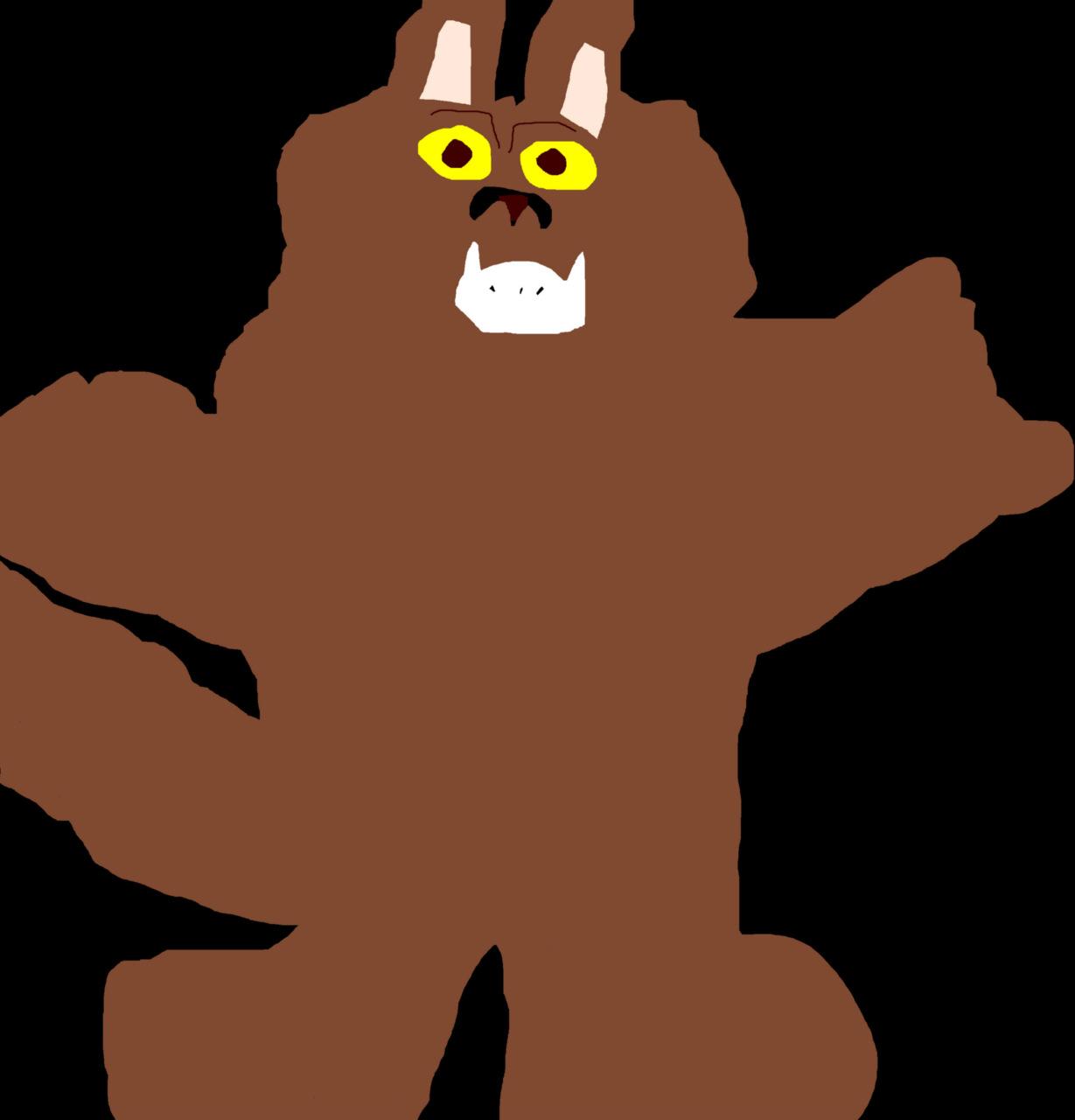 Another Toony Werewolf MS Paint^u^ by Falconlobo