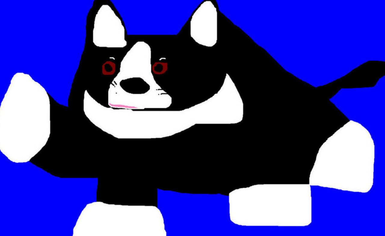 Chubby Dog i Dunno MS Paint by Falconlobo