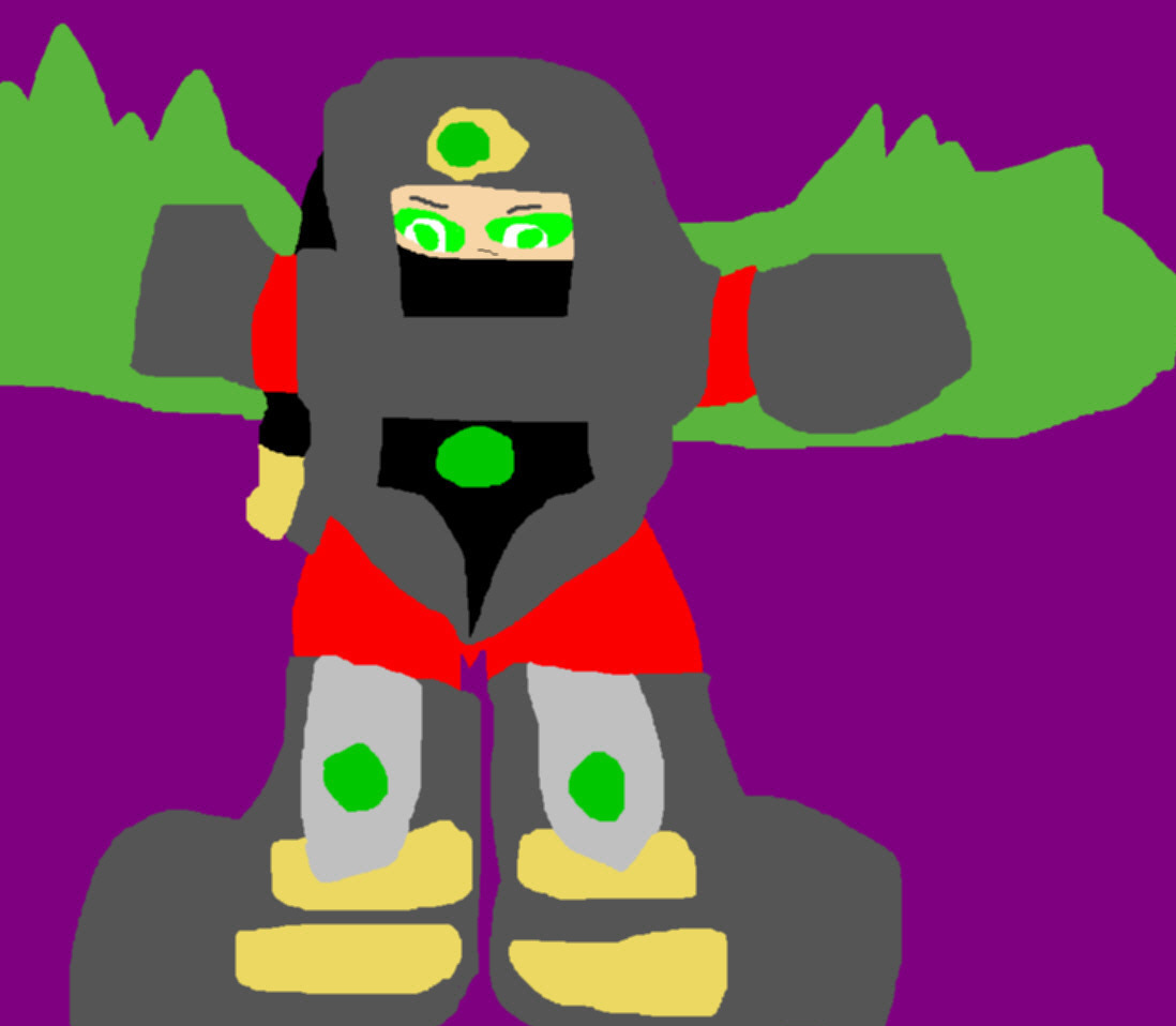 Ermac Plushie Request For alerkina4 MS Paint by Falconlobo