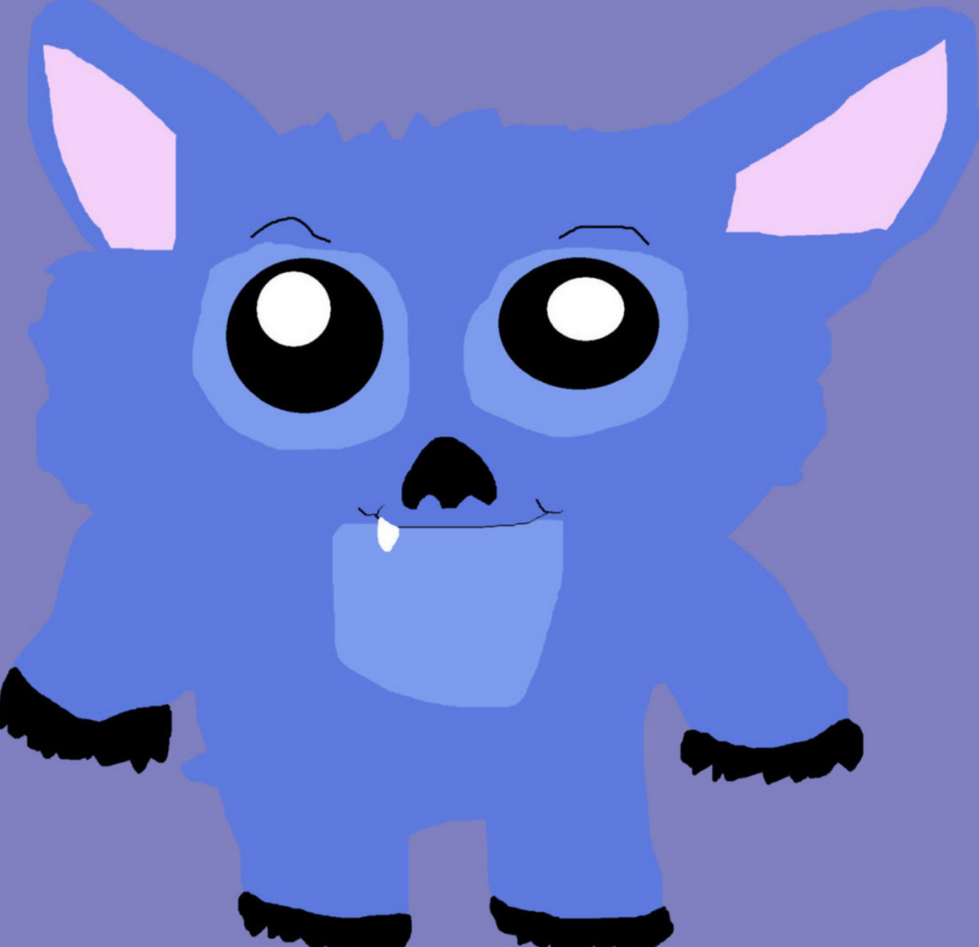 Chubby Chibi Stitch Request MS Paint^^ by Falconlobo