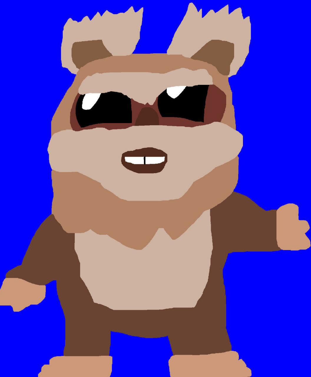 Wicket MS Paint Again New For 2015^^ by Falconlobo