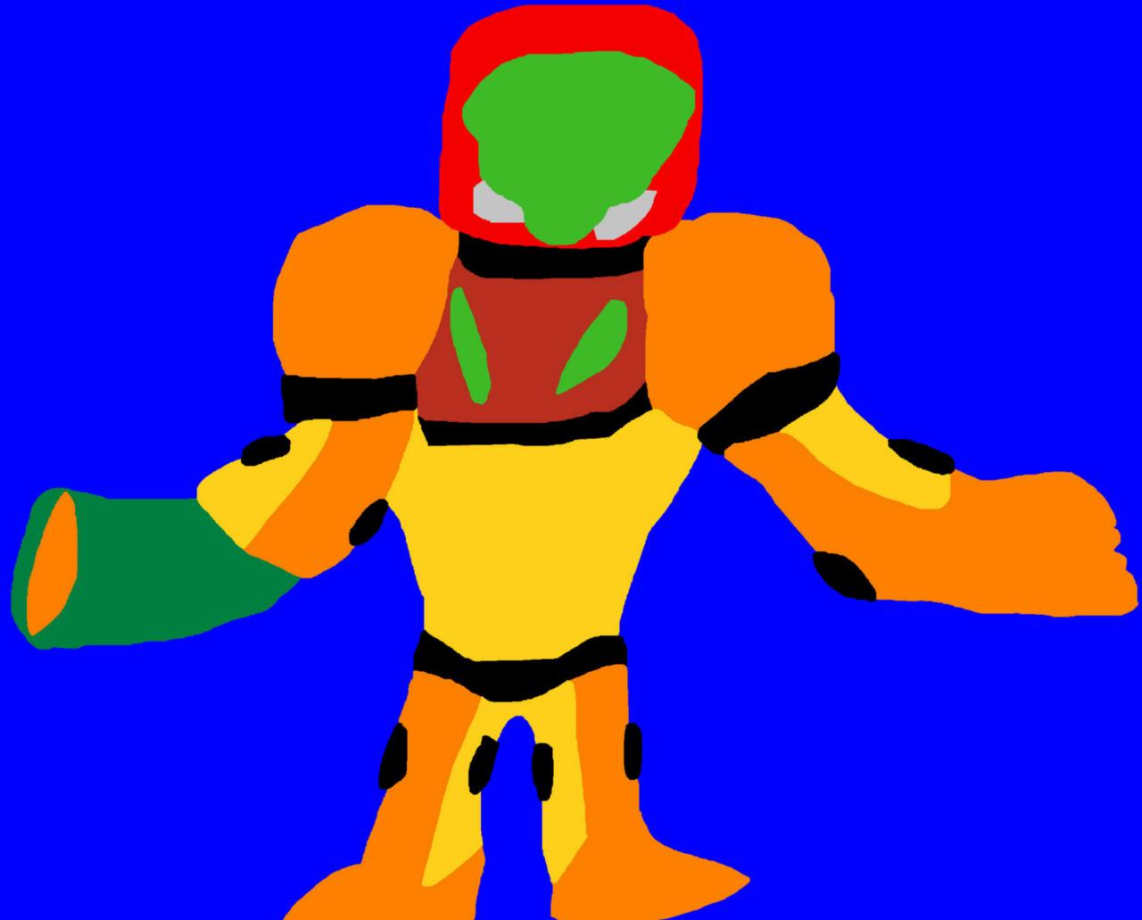 Chibi Samus Aran's Power Suit MS Paint Request For Lok8898 Of  Furaffinity by Falconlobo