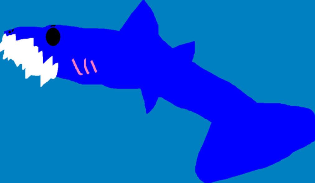 Random Durp Shark MS Paint by Falconlobo