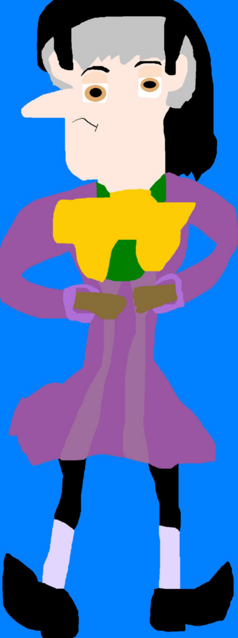 The Grumpy But Cute Sorcerer Again MS Paint by Falconlobo