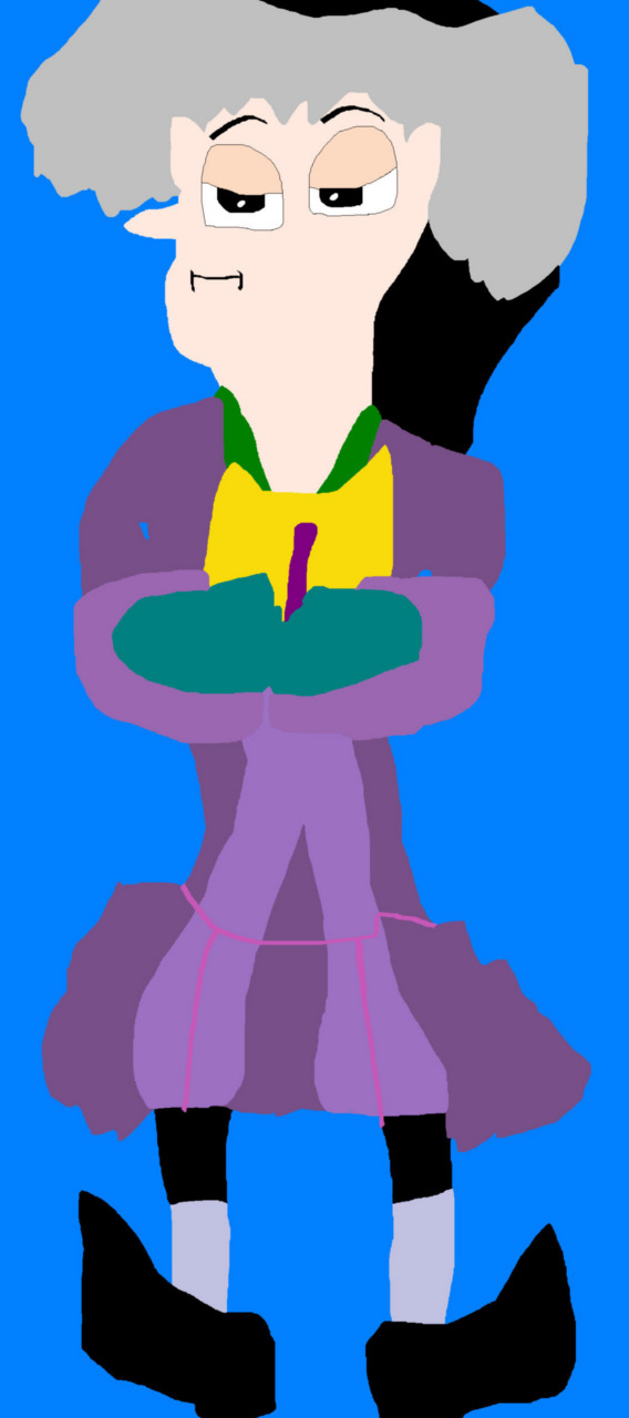 Cedric The Grumpy Sorcerer MS Paint^0^ by Falconlobo