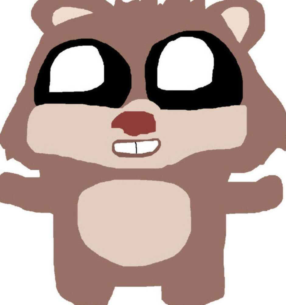 Ewok Teddy Bear Plush For The 4th MS Paint by Falconlobo