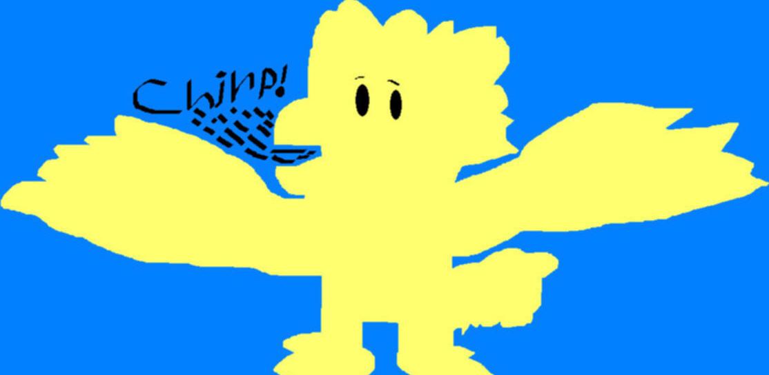 Chirp MS Paint by Falconlobo