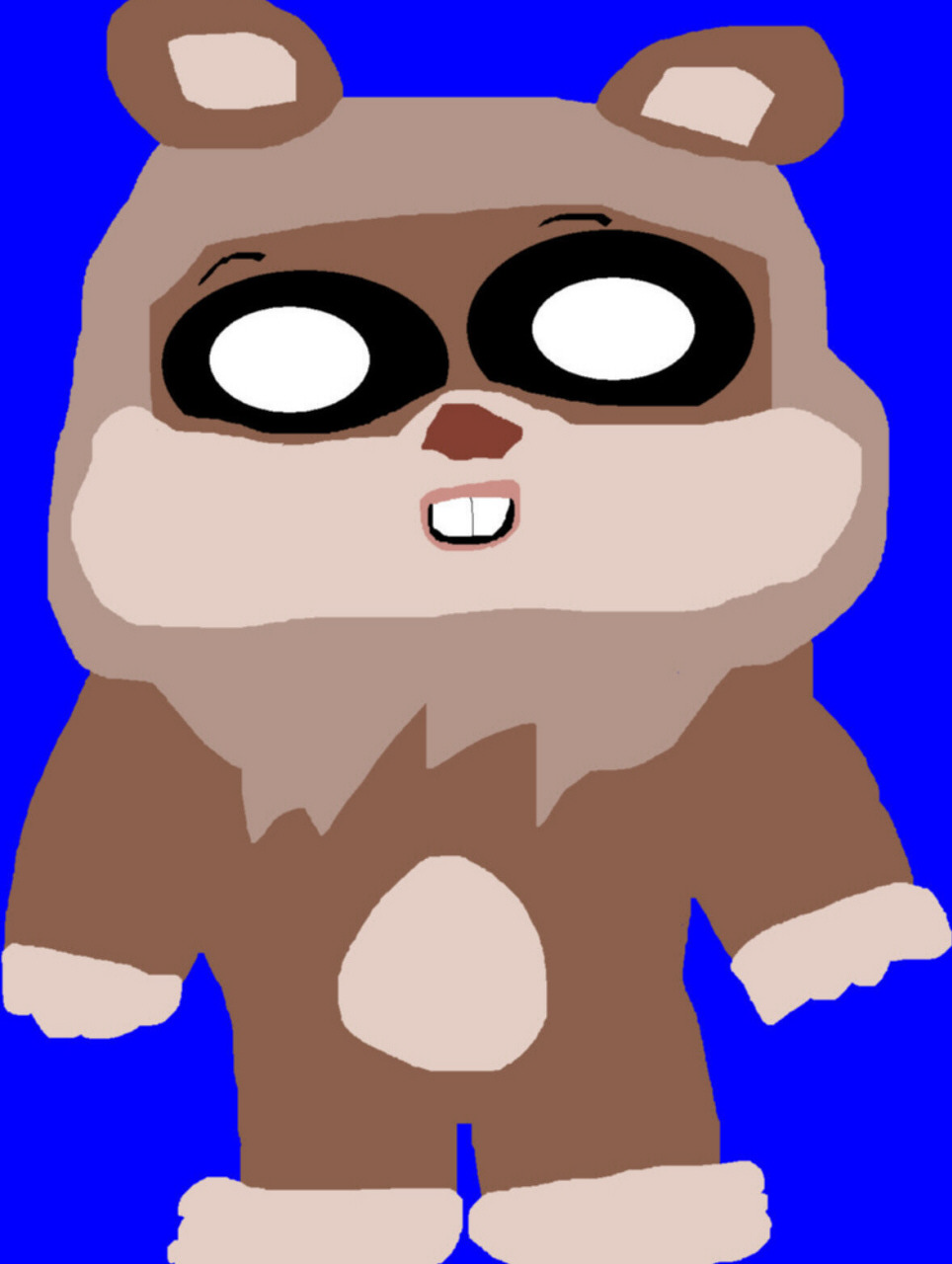 Random Wicket Ewok MS Paint^^ by Falconlobo