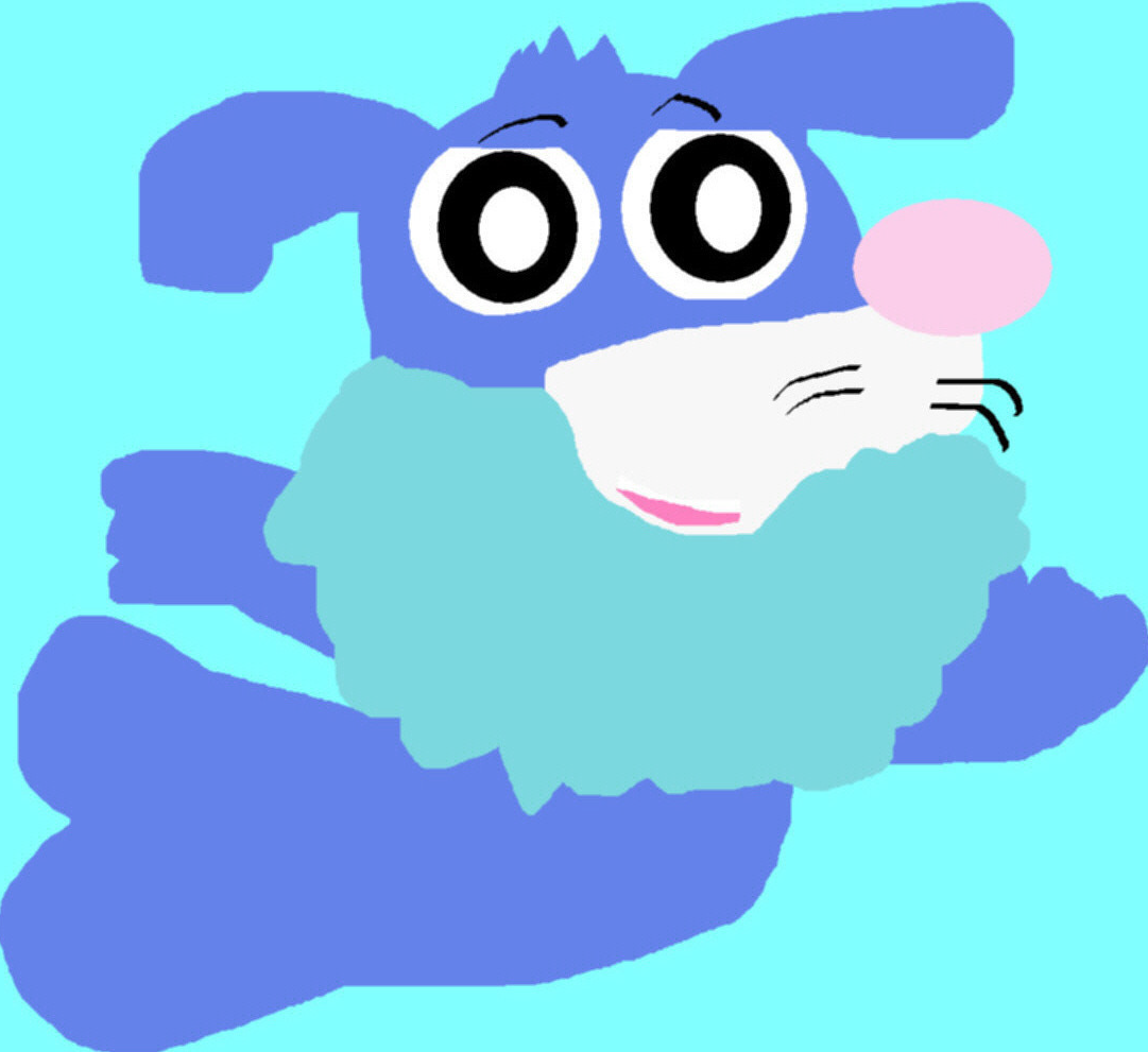Popplio Attempt Again MS Paint^^ by Falconlobo