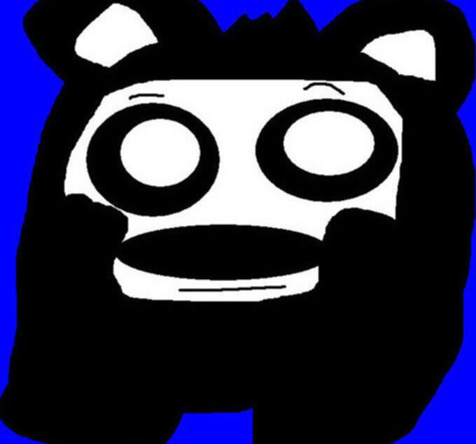 Random Panda Ball MS Paint by Falconlobo