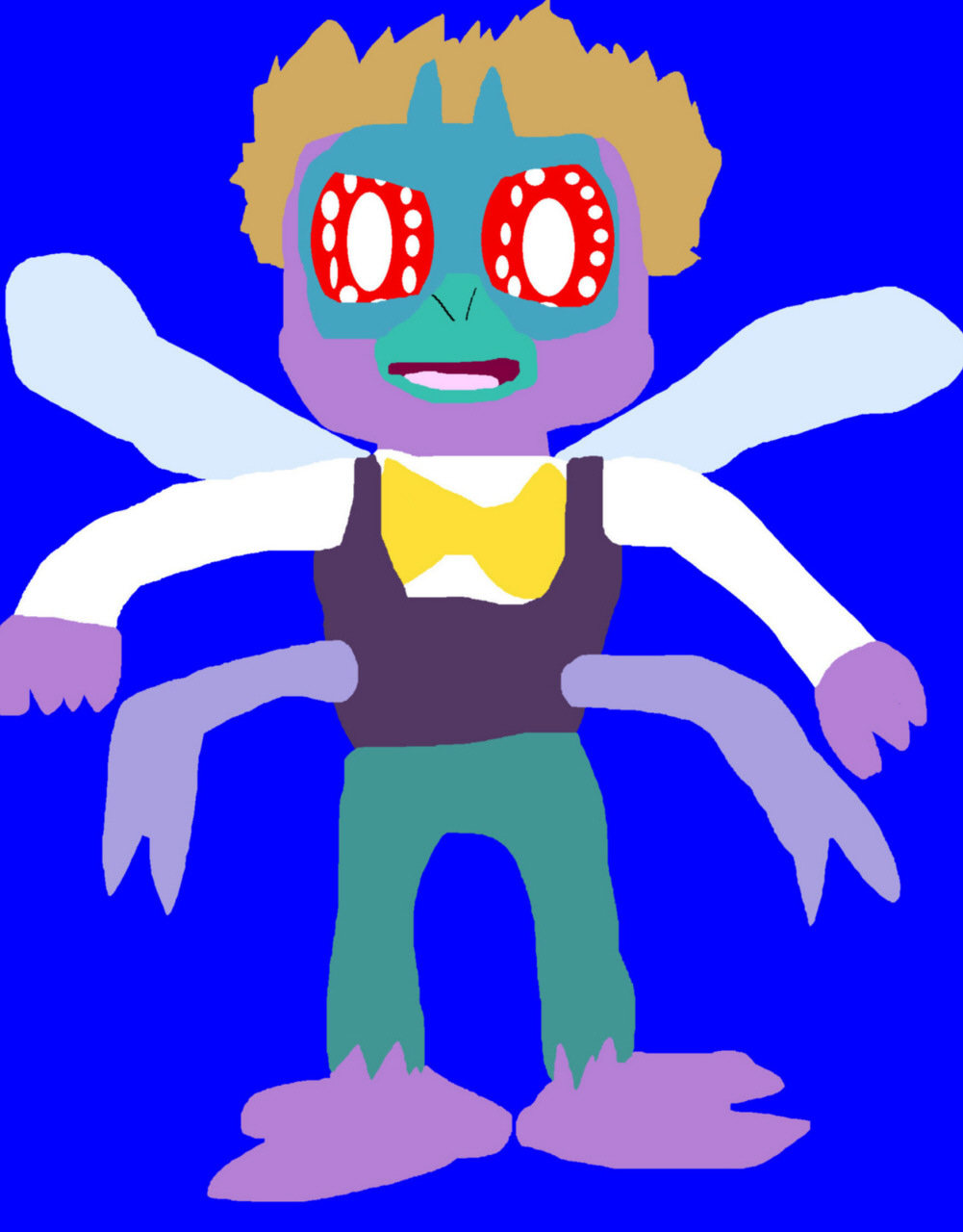 Baxter Stockman Fly Newer For 2017 MS Paint^^ by Falconlobo