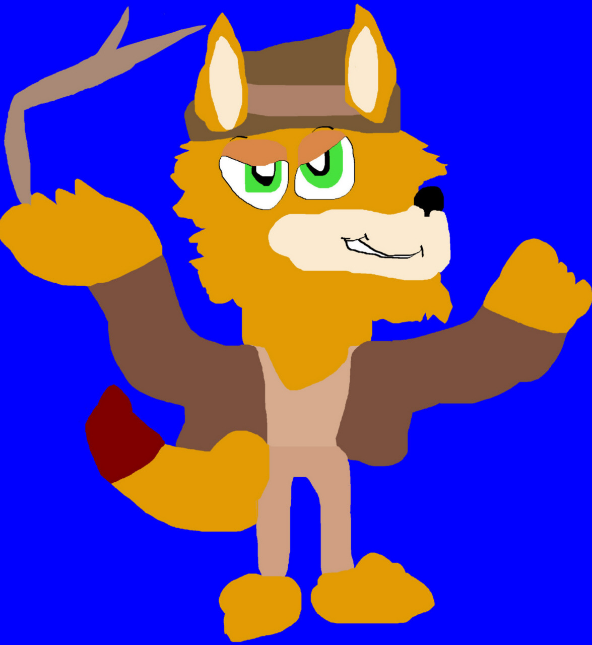 Indiana Nick MS Paint Request by Falconlobo