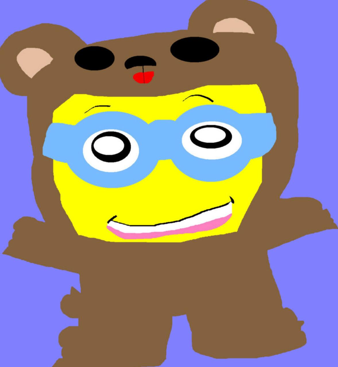 Bob's Bear PJs MS Paint^^ by Falconlobo