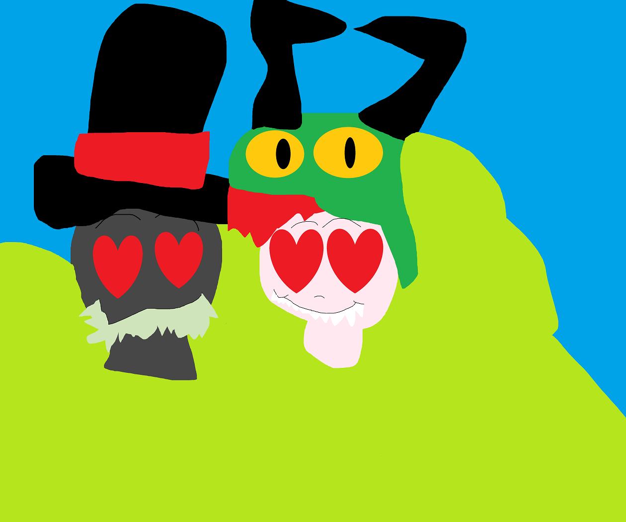 Villainous Random Hariy Love MS Paint^^   I was bored by Falconlobo
