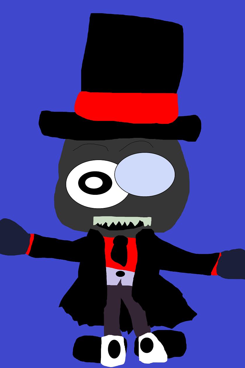Just A Random Cute Chibi Black Hat  MS Paint by Falconlobo