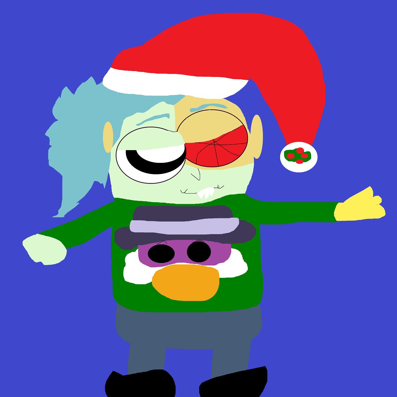 Boxman's Ugly Christmas Sweater Get Up by Falconlobo