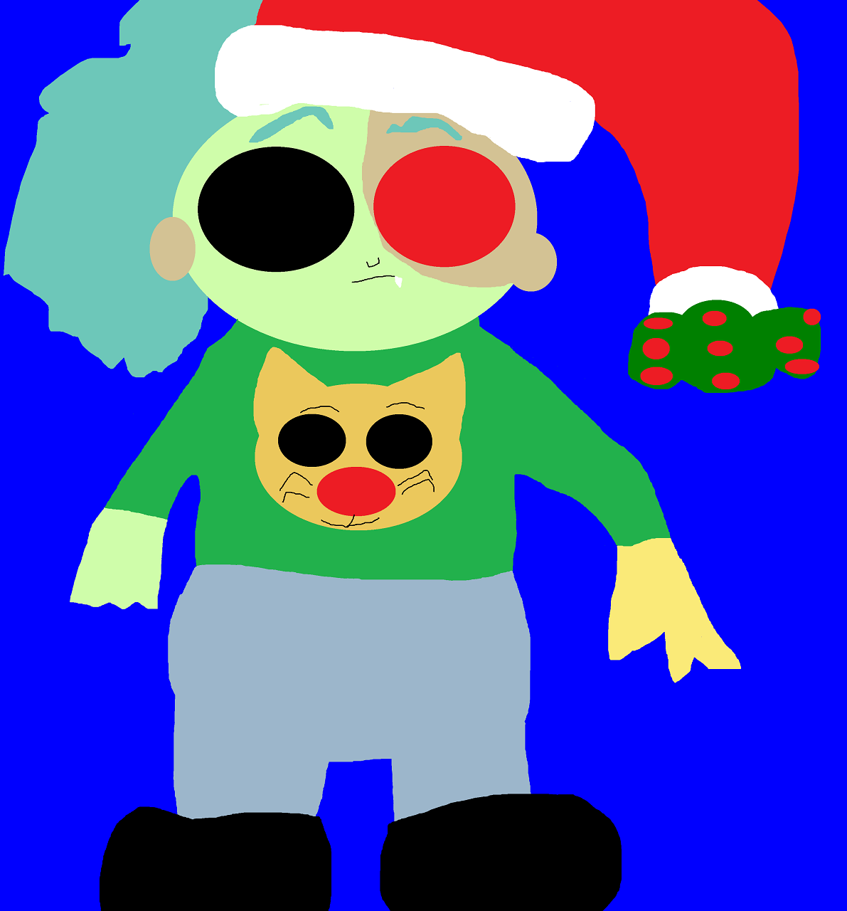Boxman's Other Ugly Christmas Sweater by Falconlobo