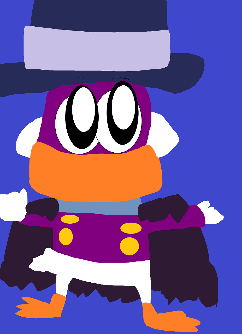 Random Cute Chibi Darkwing Duck by Falconlobo