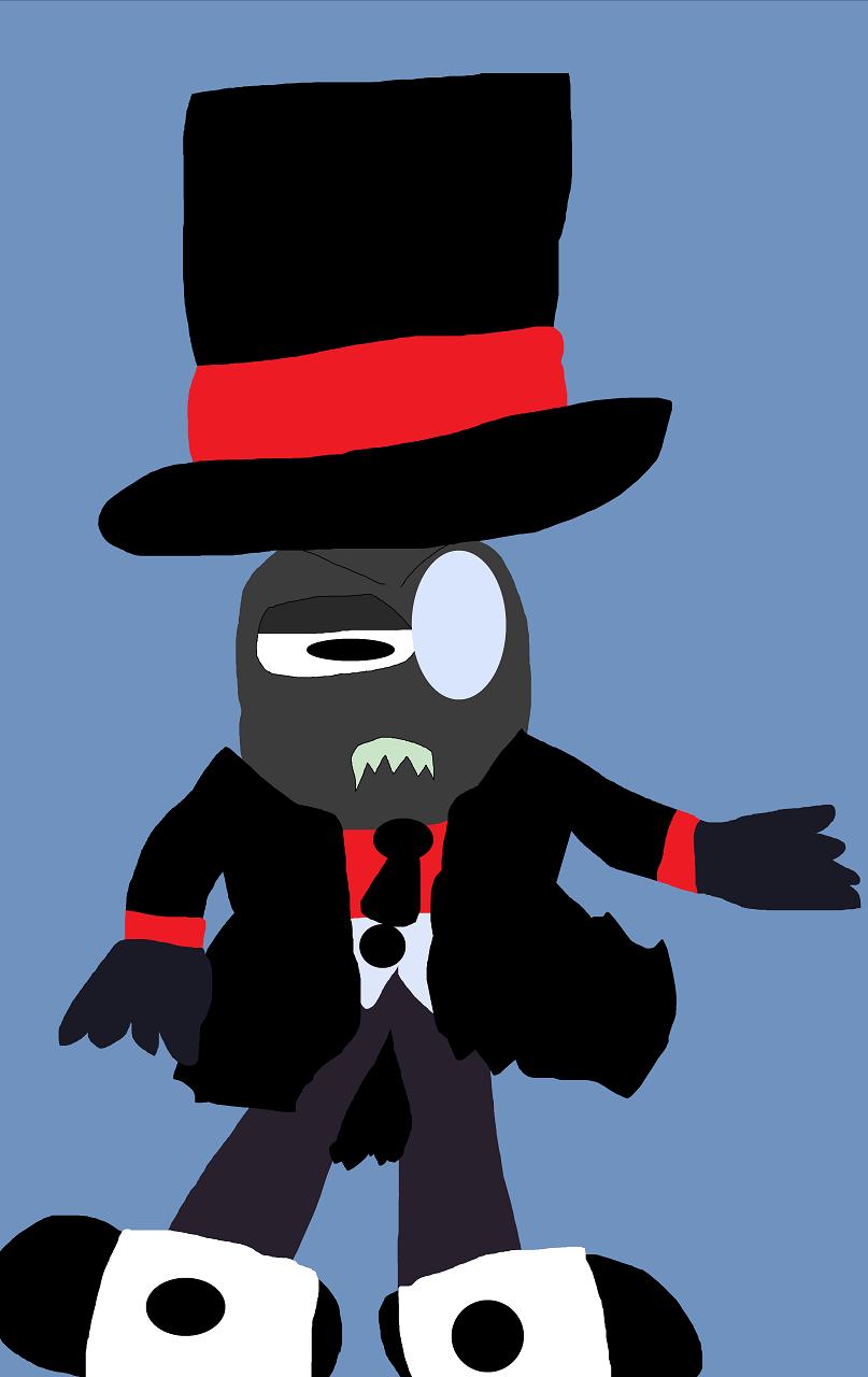 Annoyed Looking Black Hat Random by Falconlobo