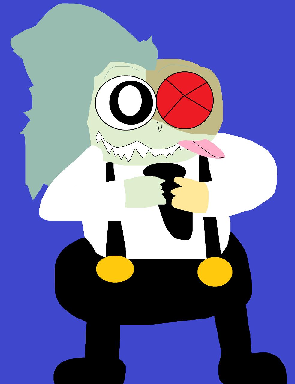 Just A Random Goofy Looking Boxman by Falconlobo