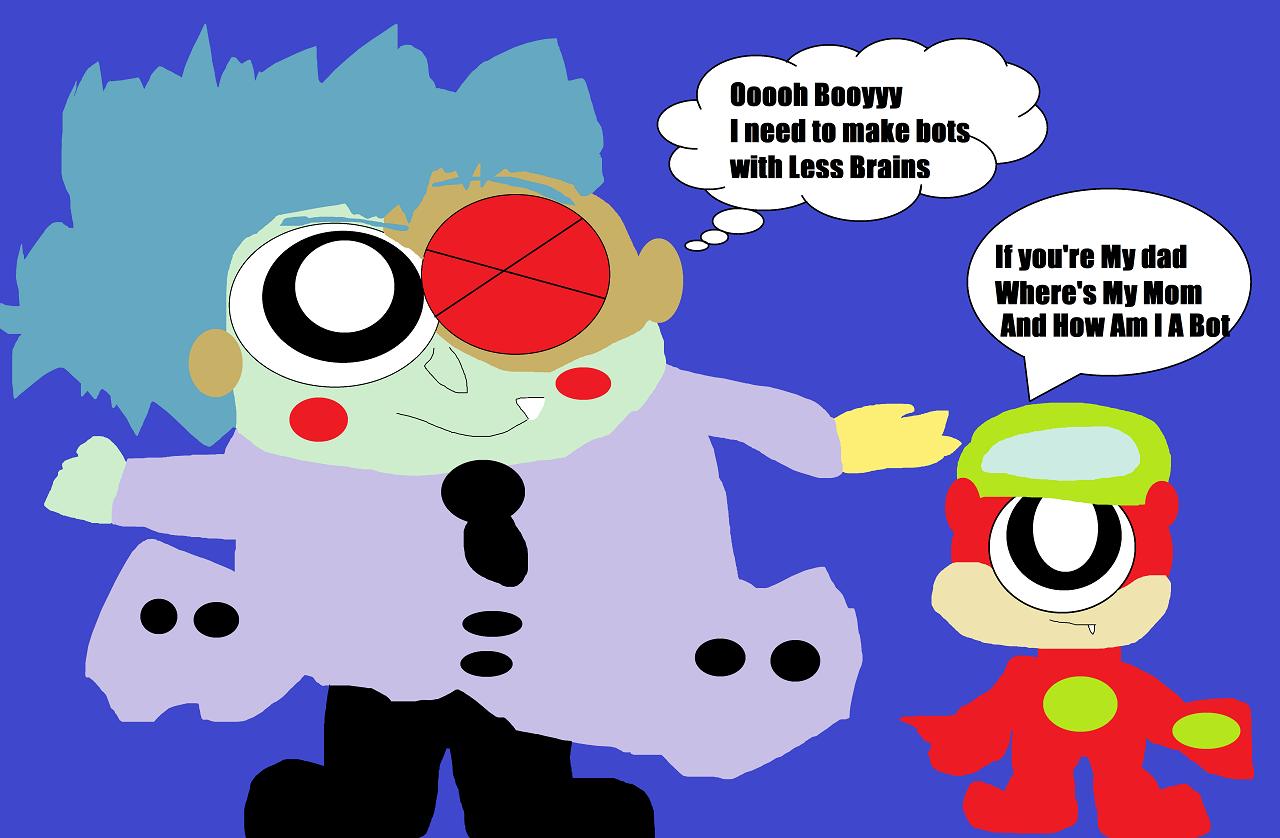 Ooooh Boy I Need To Make Bots With Less Brains by Falconlobo