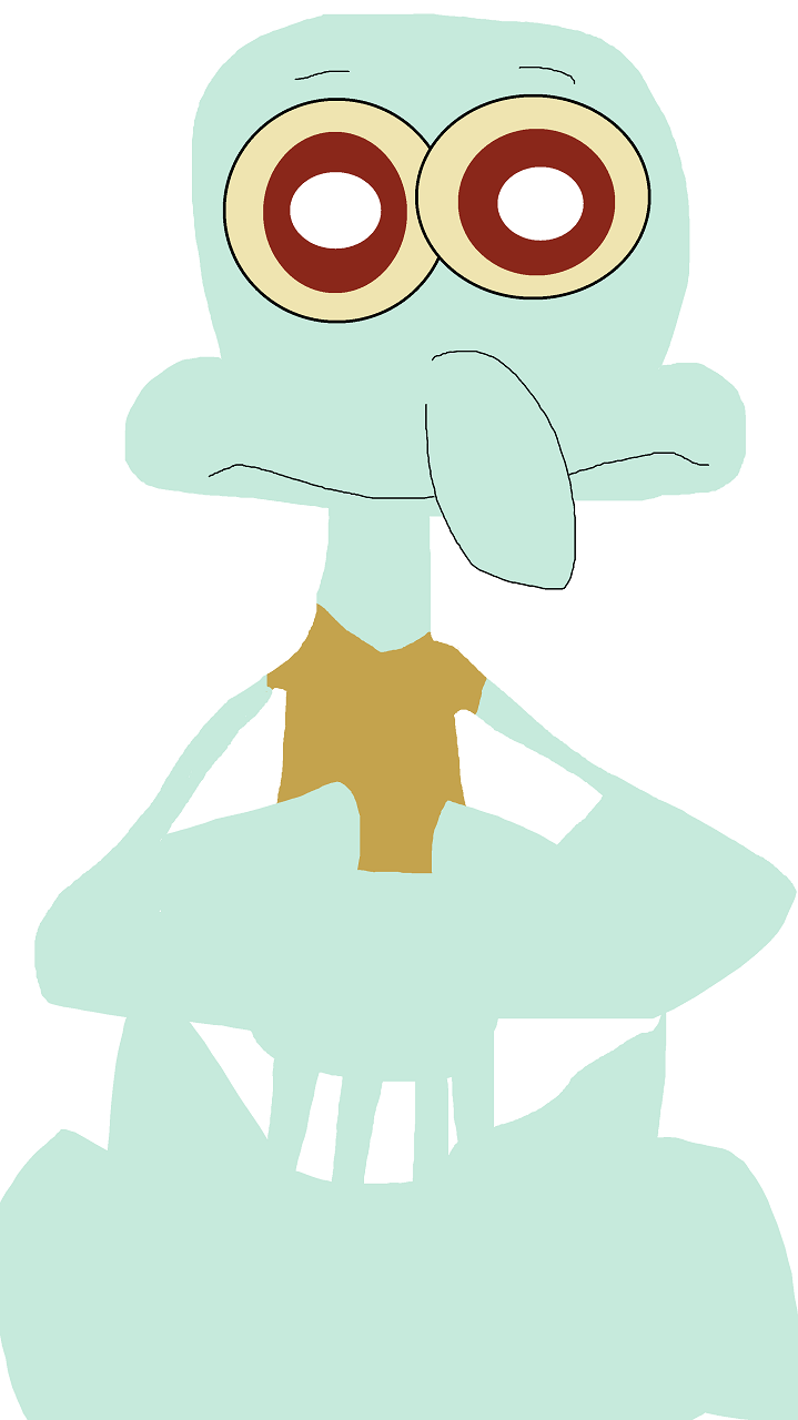 Random Quick Squidward^^ by Falconlobo