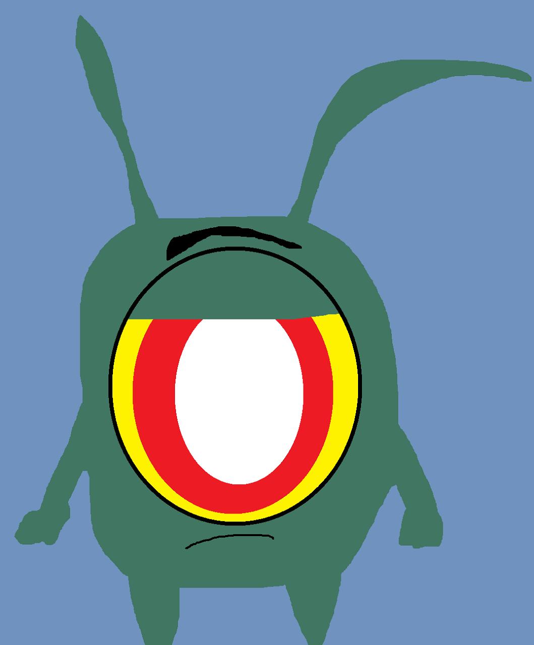 A Grumpy Bean by Falconlobo