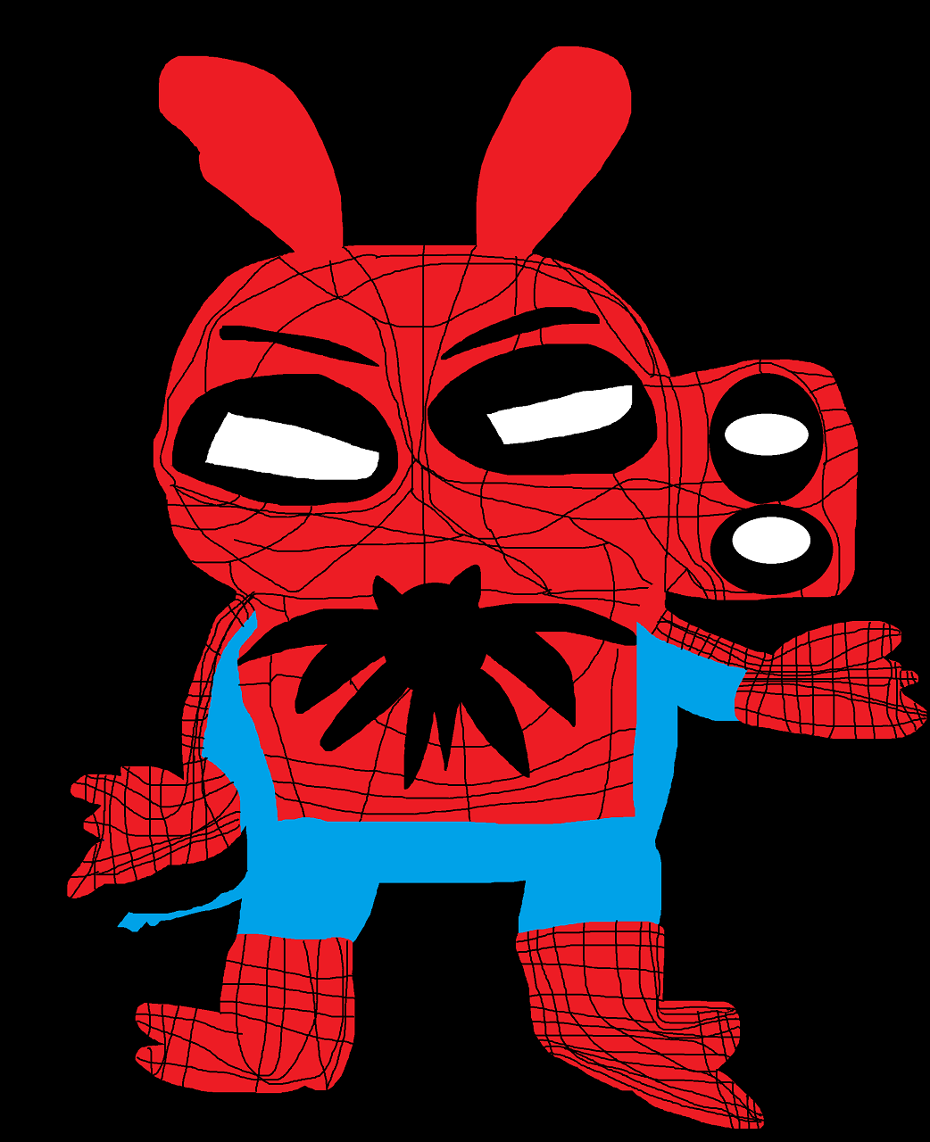 SpiderHam Eyebrows  I Was Boared hehe by Falconlobo