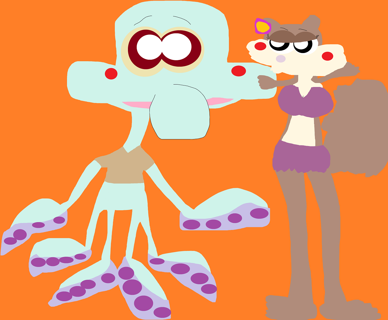 It's Squidie Sandy Added by Falconlobo