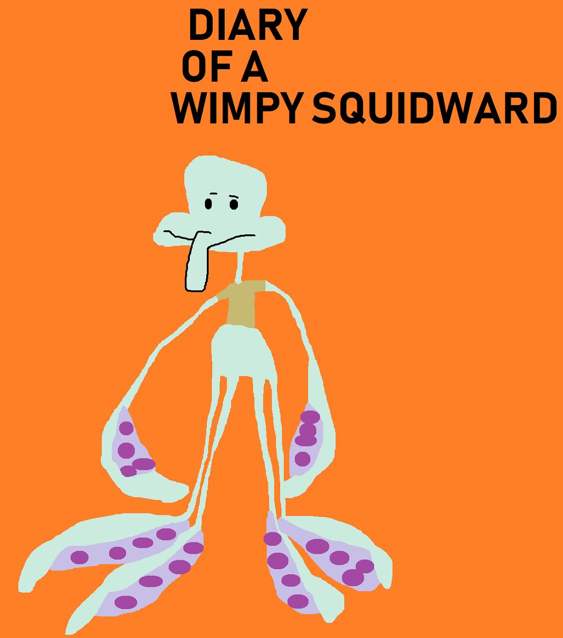 DIARY OF A WIMPY SQUIDWARD by Falconlobo